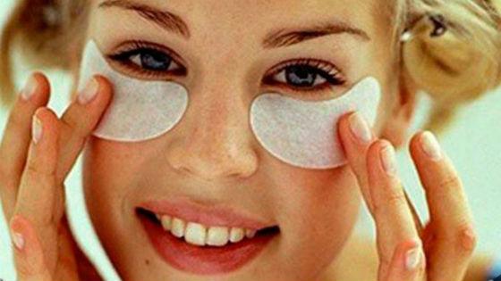 Домашний уход за кожей вокруг глаз