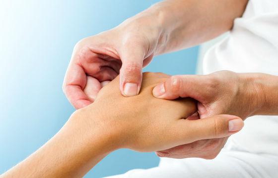 Массаж для расслабления мышц кисти