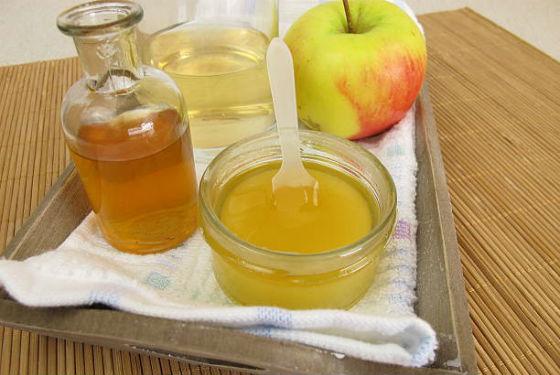 Яблочно-медовая маска для восстановления цвета волос