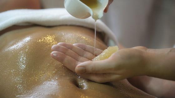 Медовый массаж проводится на любом участке тела