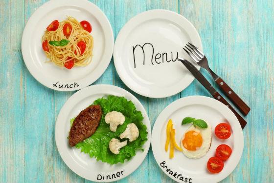 Варианты приготовления для основных приемов пищи