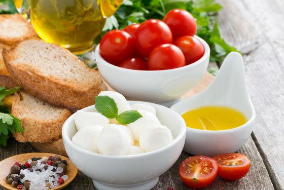Примерный рацион диетического питания