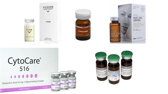 Препараты для мезотерапии для кожи головы