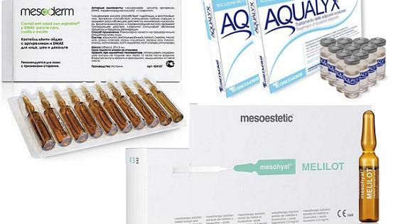Препараты для мезотерапии для тела