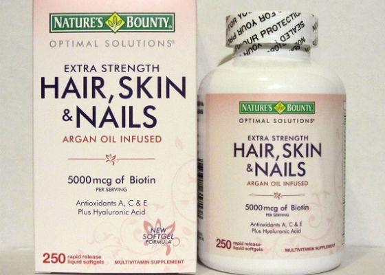 Nature's bounty Hair, Skin & Nails для кожи головы и ногтевых пластин
