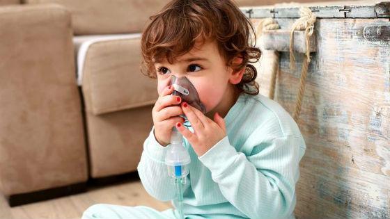 Ингаляции с небулайзером как первая помощь при развитии стеноза