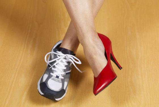 Варикоз из-за неправильно подобранной обуви