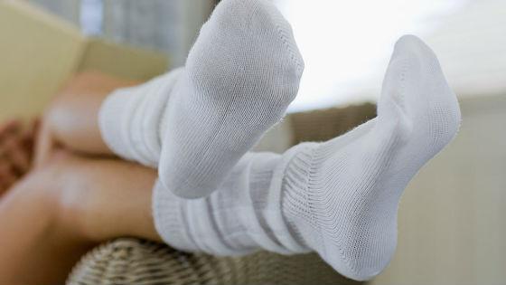 Носки должны быть изготовлены из натуральных материалов
