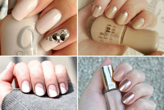 На короткие и длинные ногти