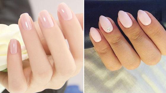 На квадратные и круглые ногти