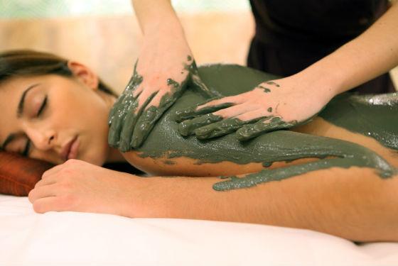 Спа-процедуры для тела с водорослями