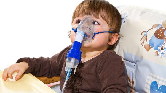 Ингаляции с небулайзером при сильных приступах кашля