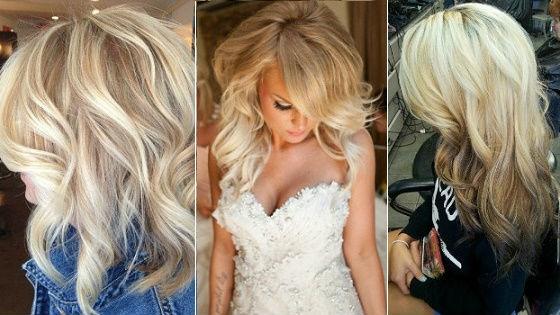 Разные варианты для блондинок