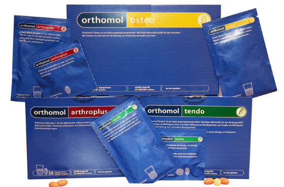 Препараты линейки Ортомол