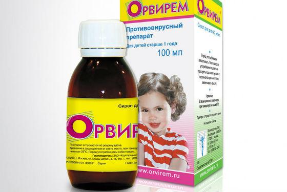 Орвирем для профилактики вирусных инфекций