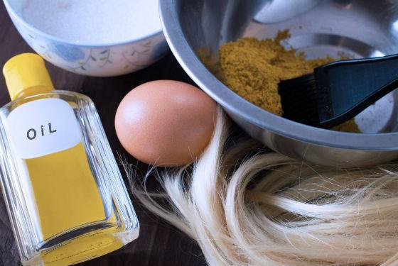 Продукты для приготовления составов для ускорения роста волос