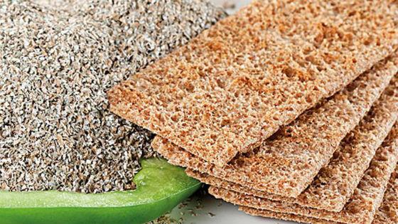 Хлебцы из ржаных отрубей
