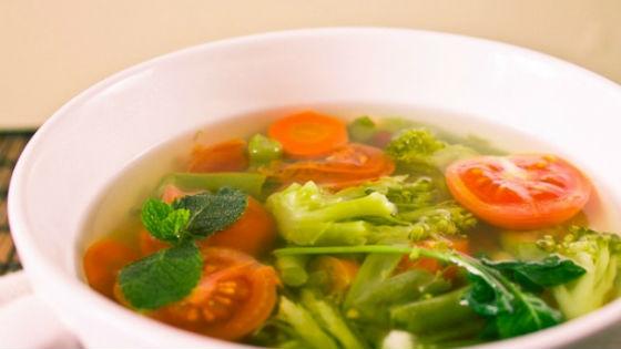 Овощные супы как основа суповой диеты