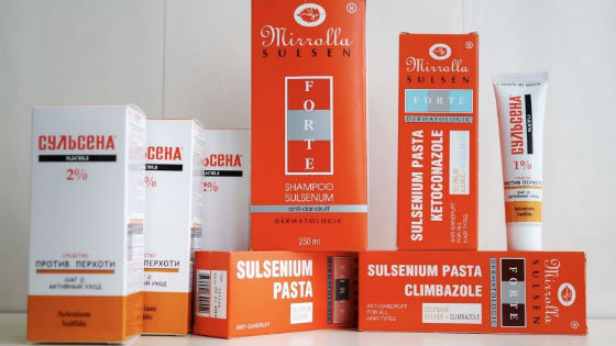 Сульсена для восстановления кожи головы и волос