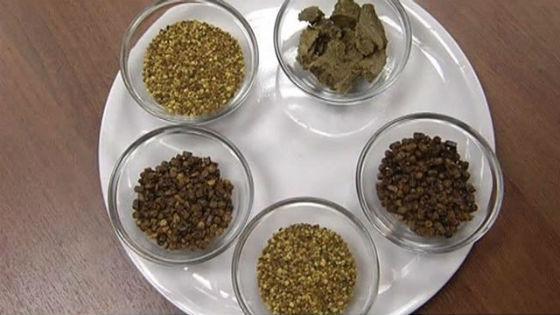 Продукты пчеловодства, перга и прополис