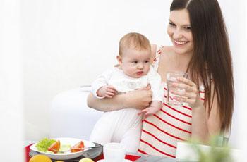 Диета для кормящей мамы