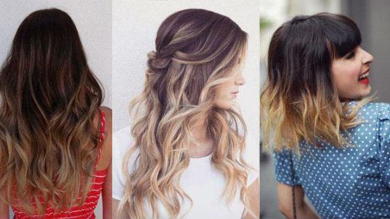 Варианты на разную длину и оттенок волос