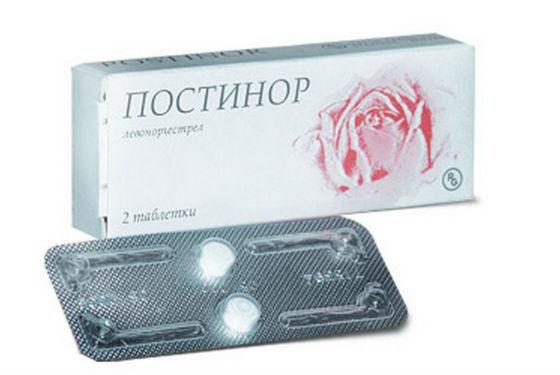 Постинор для быстрого приближения менструации