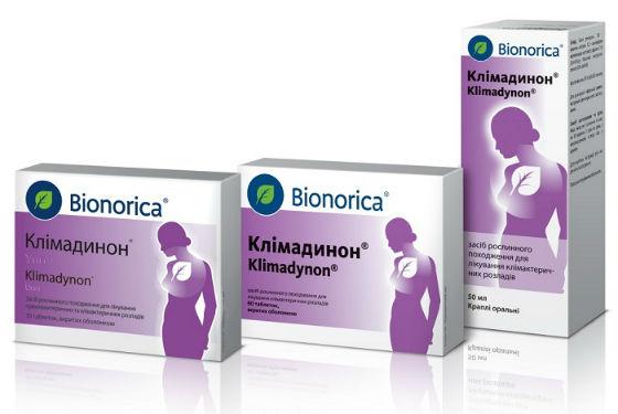 Препарат Климадинон для нормализации гормонального фона