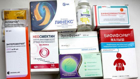 Вспомогательная терапия при ротавирусе