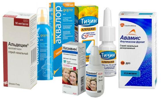 Виды препаратов для местного и системного лечения аллергии