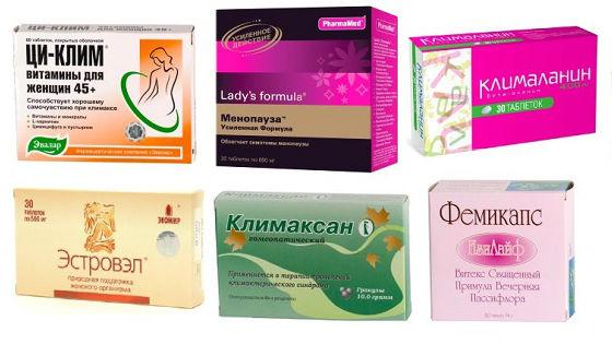 Препараты для лечения климакса