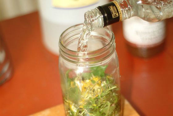 Приготовление спиртовой настойки на травах