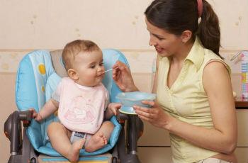 Прикорм ребенка на грудном вскармливании