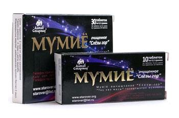 Мумие в таблетках для волос и от растяжек: инструкция по применению и отзывы