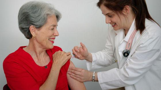 Иммунизация против пневмококка людей пожилого возраста