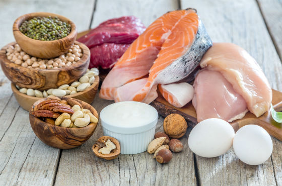 Продукты, содержащие большое количество белков