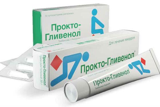 Прокто-Гливенол для лечения геморроя
