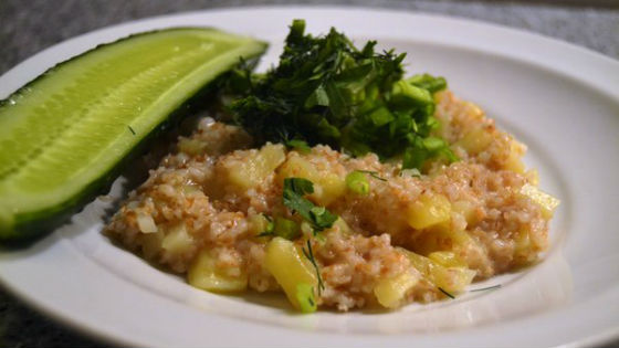 Каша из пшеницы с овощами как диетическое блюдо