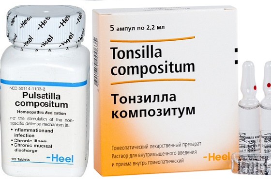 Гомеопатический препарат пульсатилла в гранулах и инъекциях