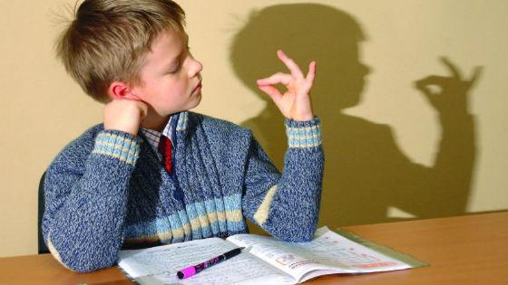 Часто у ребят с недостаточной внимательностью отклонений в поведении не наблюдается