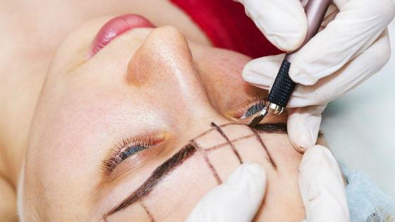 Подготовка к перманентному макияжу