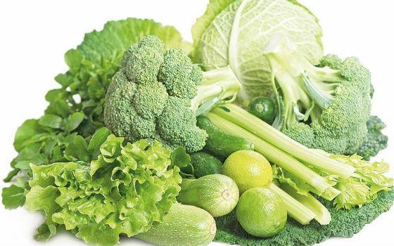 Разрешенные виды зеленых овощей для диеты