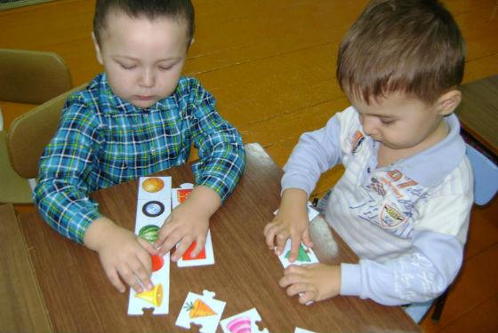 Игры на запоминание в детском саду