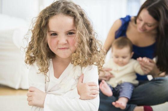С появлением младших детей старшие чувствуют себя покинутыми
