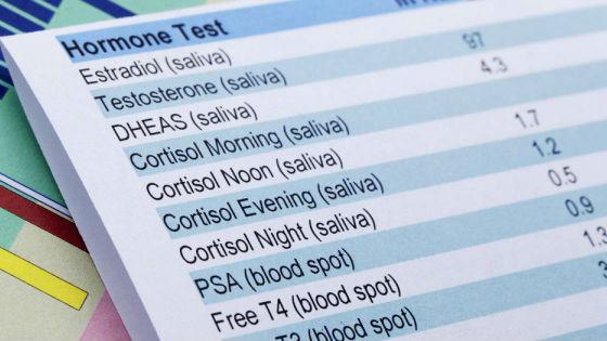 Диагностировать изменение гормонального фона возможно по результатам анализа крови
