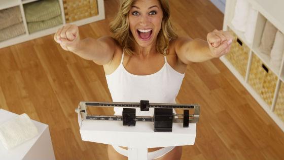 Быстрое похудение при понижении калорийности рациона