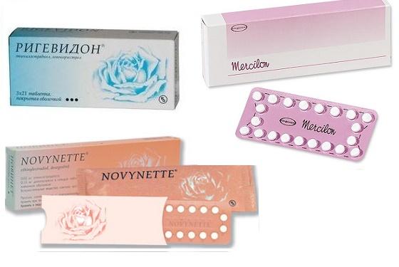 Монофазные оральные контрацептивные таблетки