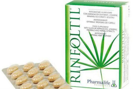 Витамины ринфолтил для восстановления волосяных фолликулов