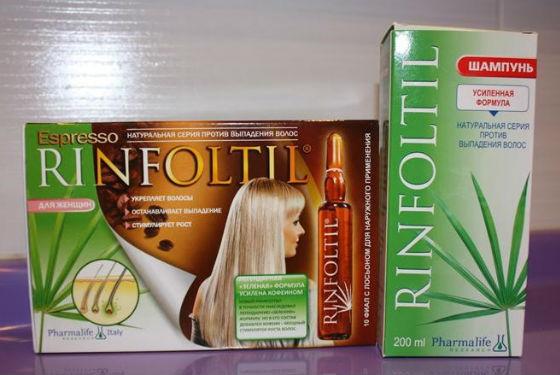 Комплекс Ринфолтил для восстановления волос
