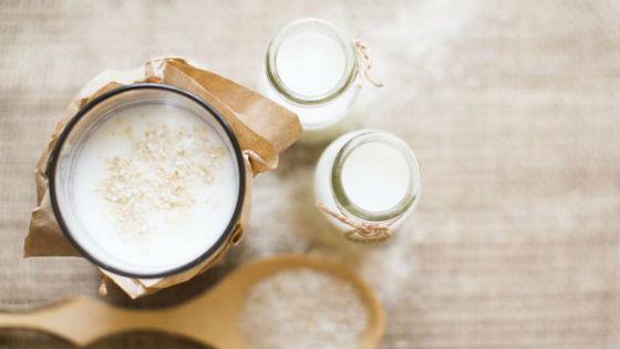 Кефирный напиток с шелухой риса для очищения